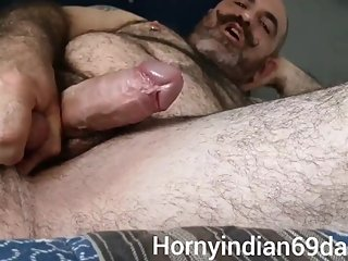 Daddy leaked video getting so much horny