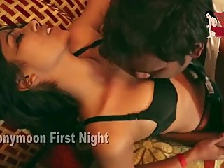 Hot desi shortfilm 255 - Boobs pressed & kissed in bra, navel kiss, smooch