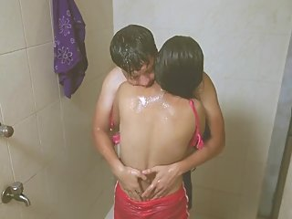 Hot desi shortfilm 130 - Boobs pressed & kissed in pink bra, hot smooches