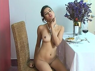 Ziva Galore - Nude in Restaurant