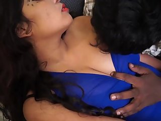 Hot desi shortfilm 94 - Big boobs pressed, grabbed, kissed, navel fingering