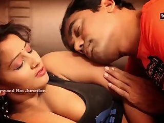 Hot desi shortfilm 87 - Suma aunty boob squeezed, press, kiss, navel kissed