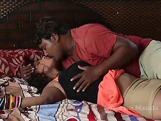 Hot desi shortfilm 80 - Saniya Rao boobs squeezed, pressed, kissed & smooch