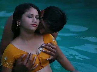 Hot desi shortfilm 55 - Mamatha transparent nipple in wet blouse,boob press