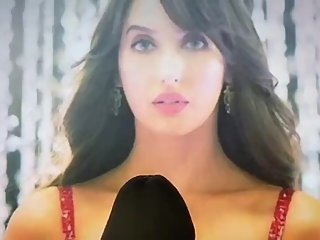 Nora Fatehi Cum Tribute, Book Yours Too Email Or Kik Me