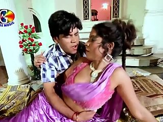Hot bhojpuri song 31 - Roopa aunty's boobs pressed hard many times
