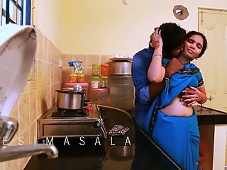 Hot desi shortfilm 316 - Anjali boobs squeezed hard, ass press, navel kiss