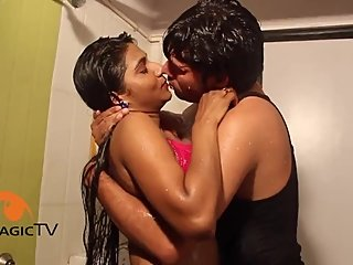 Hot desi shortfilm 292 - Kavita Verma boob kiss, press, navel kiss, smooch