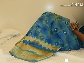 My wife mohini in blue saree fucked in her nri friend home hindi