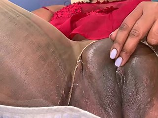 Chubby Indian Lesbian Babe Slowly Plays With Her Pussy For You To Lust Over
