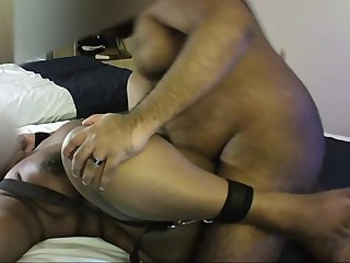 Hannah Ryan - Hannah cumming hard in a harness in a Hotel room