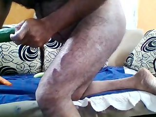 indian man love playing with his asshole