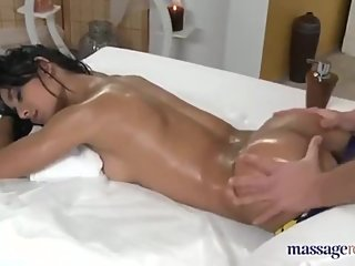 Indian Girl Gets Sensual Massage and Fuck