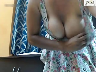 Beautiful Desi Bhabhi's Nude Strip Show