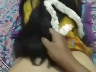 Fucking a Desi Indian girl in Doggy style