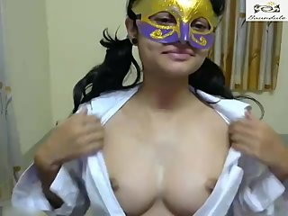 Indian Cute Girl Boobs Show on Cam