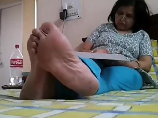Candid Indian Wife soleface