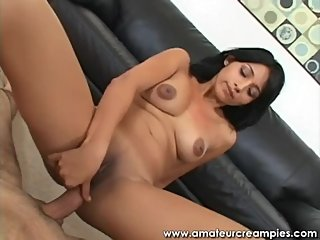 Indian girl get a creampie