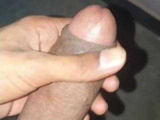 Desi indian Guy Jerking off BBC
