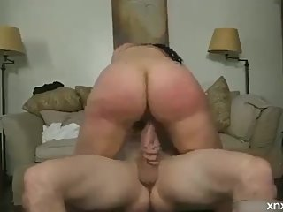 Perfect ass girl fucked hard