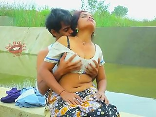 Hot desi shortfilm 278 - Boobs squeezed & pressed continuously in blouse