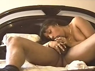 Latin Indian gf blows boyfriends bbc and loves the cum in her pussy