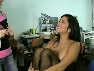 Behind the scenes with Sunny Leone