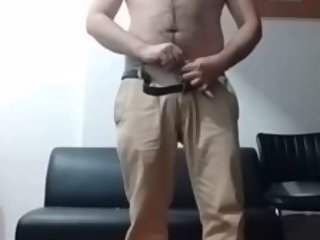 Indian guy removing his clothes and showing his dick