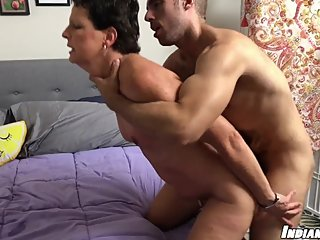 Erotic Massage and fucking for MILF Beth