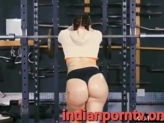Kinky Mandy Muse anal fucked in the gym ful hd video at indianporntv.online