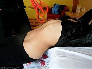 penetrating my navel with a sexy belly stretched FULL PART 2 FoP
