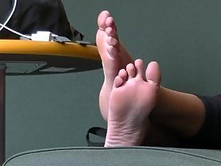 Candid Indian Teen Bare Soles
