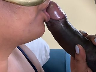 Fucking My Fat Indian Chubby Face With His Massive Big Black Cock