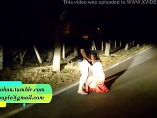 pranaya getting fucked in road with husband friend