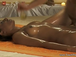 She Gets Her Relaxing Massage