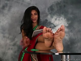 Indian Girl Feet