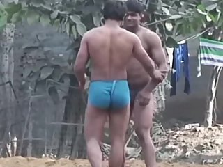 Indian Wrestler's hot ass